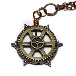 Steampunk Gear pendant by CatherinetteRings