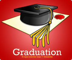 Graduation Icon by Flarup