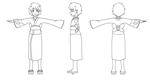 SO I DID AN ANIMATION CLASS [Oni T-pose] by XyAckhart