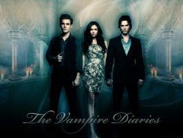 The Vampire Diaries by angie-sg