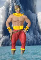 Project Superpowers: Hydroman by DaswookofHeromorph