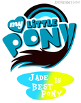(Request)MLP:FIM Logo Jade Version by AndreaSemiramis