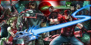 Crimson Blade banner by ZipDraw