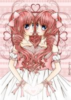 Heart of Twins Colour Ver. by REBORNxYUI