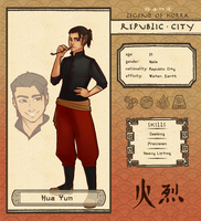 Republic City App - Hua Yun by shaihya