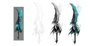 guild wars 2 sword concept 3 by eculiny