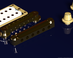 3D Guitar Bridge by BKrootz