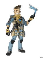 Avatar Modern Warfare: Sokka (Take Two) by MoeAlmighty