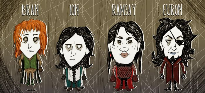 don't starve x asoiaf by Michelsminne