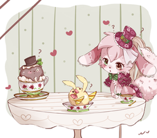 Not part of the menu by Ipun