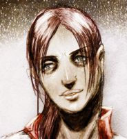 claire redfield face by toxiksskulls