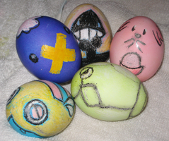 Easter Eggs by ChouShoe