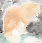 My Cat In The Garden 3 by CaptainBeth