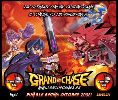 Grand Chase Splash Page by Ardnaz