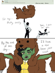 Question For Everybody: Bear Fight by thelivingmachine02