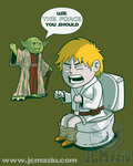 Sometimes the force is not enough. by JCMaziu