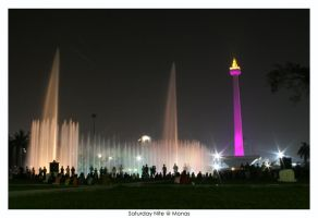 Saturday Nite at Monas by indonesia