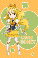 Happiness Charge Precure - Cure Honey by AngelDranger