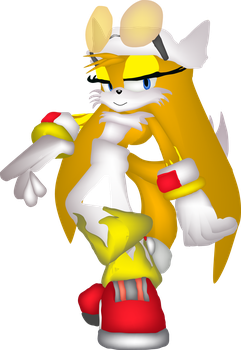Tails as Wave by Gamerz31w