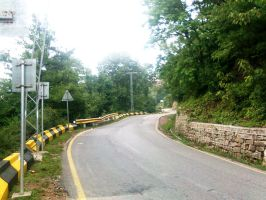 A Lonely Road MURREE by DOGFATHER-X9
