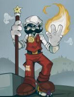 Fire Mario by Zimmer-man