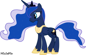 Princess Luna - 'What My Cutie Mark Is Telling Me' by MixiePie