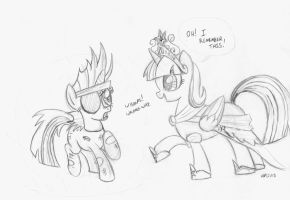 A Meeting of Minds (Sketch) by ABronyAccount