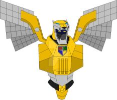 Voltron Force Yellow Center by THUNDERWOLFX13