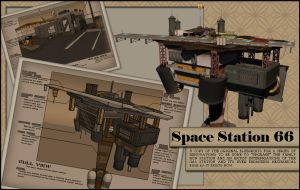 Space Station 66 - Concept by scarlet42