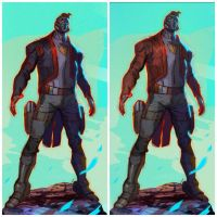 Star-Lord designs by CoranKizerStone