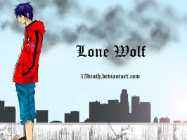 LONE WOLF ON THE ROOF by 15DEATH