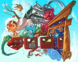 Let Go Japan by jengslizer