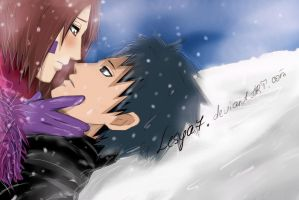 Obito and Rin: Let me to.... by Lesya7
