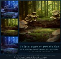 Fairie Forest Premades by kuschelirmel-stock