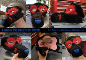 P - Crafting - Temrin Masquerade Mask by Temrin