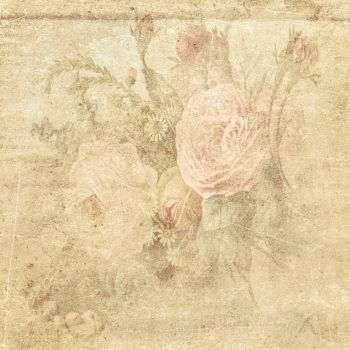 FREE TEXTURE VINTAGE FLOWERS #1 by My-AngelWings