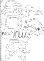 Grungepuppy n satire by satiredun