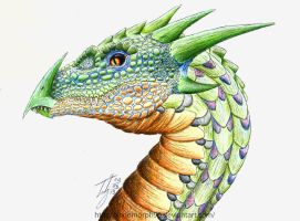 Horned Dragon *SOLD* by xenomorph96