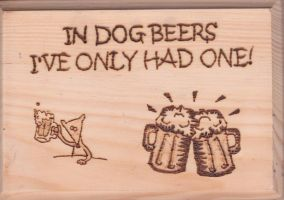 Dog Beers by TheTurnerPack