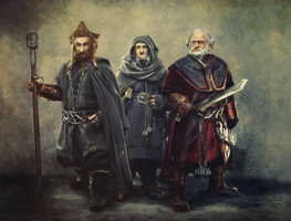 The Dwarves Of The Hobbit by G-10gian82