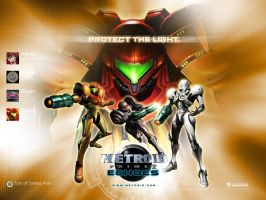 Metroid Prime 2 : Echoes by sonofshade