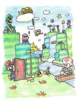 Super Mario Bros. 2 by minimariodrawer