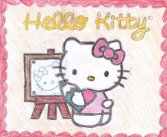 Hello Kitty - Draw by shadamyluv