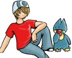Mike + Munchlax friend request by Shourei