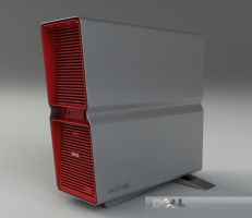 Dell XPS case by 3DEricDesign