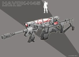 H.45 Sniper Rifle by Comikidd