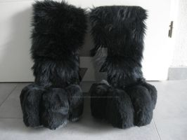 feetpaw commission by FurryFursuitMaker