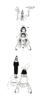 Karin and Lincoln little comic extra by crazygrin
