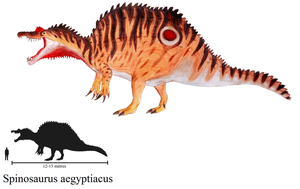 Colored Spinosaurus aegyptiacus by ZeWqt