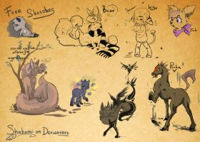 Free sketches part 1 by AvAmri